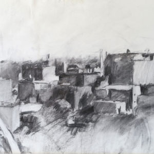 Cityscape in Charcoal