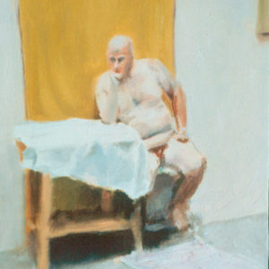 Man with Yellow Cloth